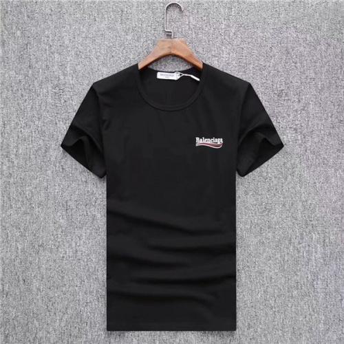 Balenciaga T-Shirts Short Sleeved O-Neck For Men #470235