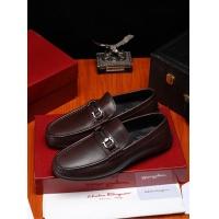 Ferragamo Salvatore FS Leather Shoes For Men #466824