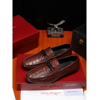 Ferragamo Salvatore FS Leather Shoes For Men #466826