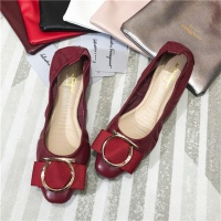 Ferragamo Salvatore FS Flat Shoes For Women #466931