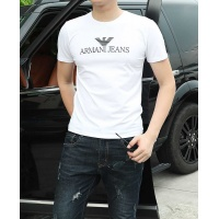 Armani T-Shirts Short Sleeved O-Neck For Men #467138
