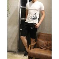 Armani T-Shirts Short Sleeved O-Neck For Men #467152