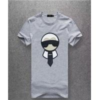 Fendi T-Shirts Short Sleeved O-Neck For Men #467484