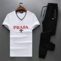 Prada Tracksuits Short Sleeved V-Neck For Men #467529