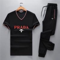 Prada Tracksuits Short Sleeved V-Neck For Men #467530
