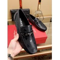 Salvatore Ferragamo SF Leather Shoes For Men #467960