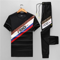 Fendi Tracksuits Short Sleeved O-Neck For Men #468106