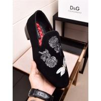 Dolce&Gabbana DG Leather Shoes For Men #468304