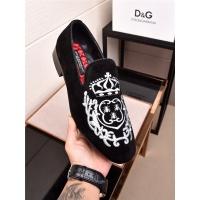Dolce&Gabbana DG Leather Shoes For Men #468308