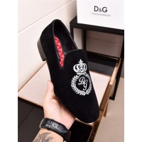 Dolce&Gabbana DG Leather Shoes For Men #468309