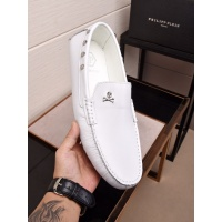 Philipp Plein PP Leather Shoes For Men #468311
