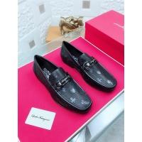 Salvatore Ferragamo SF Leather Shoes For Men #468452