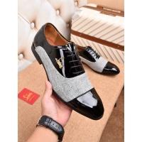 Salvatore Ferragamo SF Leather Shoes For Men #468666