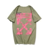 Off-White T-Shirts Short Sleeved O-Neck For Men #469095