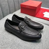 Salvatore Ferragamo SF Leather Shoes For Men #469262