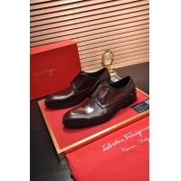 Salvatore Ferragamo SF Leather Shoes For Men #469266