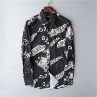 Versace Shirts Long Sleeved Polo For Men #469983