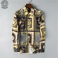 Versace Shirts Long Sleeved Polo For Men #469988