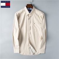 Tommy Hilfiger TH Shirts Long Sleeved Polo For Men #469993