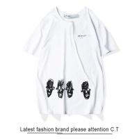 Off-White T-Shirts Short Sleeved O-Neck For Men #470367
