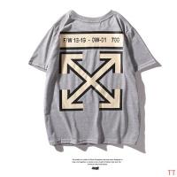 Off-White T-Shirts Short Sleeved O-Neck For Men #470400