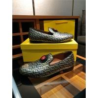 Fendi Leather Shoes For Men #471213