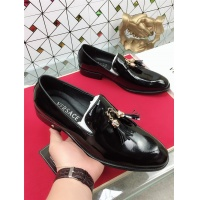 Versace Leather Shoes For Men #471804