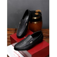 Salvatore Ferragamo SF Leather Shoes For Men #471836