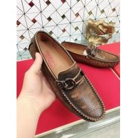 Salvatore Ferragamo SF Leather Shoes For Men #471841