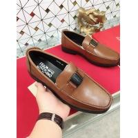 Salvatore Ferragamo SF Leather Shoes For Men #471844