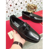 Salvatore Ferragamo SF Leather Shoes For Men #471845