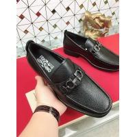 Salvatore Ferragamo SF Leather Shoes For Men #471847