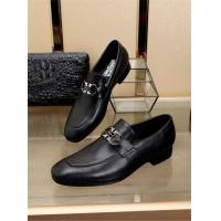 Salvatore Ferragamo SF Leather Shoes For Men #472722