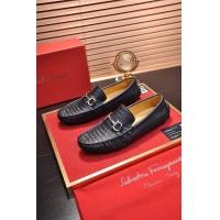 Salvatore Ferragamo SF Leather Shoes For Men #472725