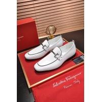 Salvatore Ferragamo SF Leather Shoes For Men #472729