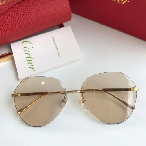 Cartier AAA Quality Sunglasses #474821