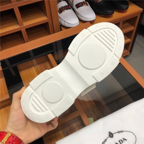 Cheap Prada Casual Shoes For Men #475237 Replica Wholesale [$79.54 USD] [W#475237] on Replica Prada New Shoes
