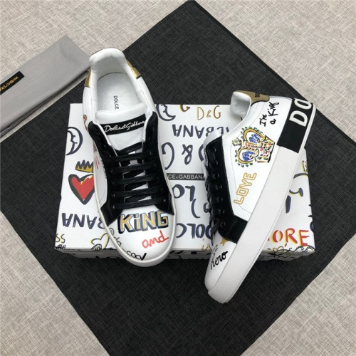 Dolce&Gabbana D&G Shoes For Men #477469