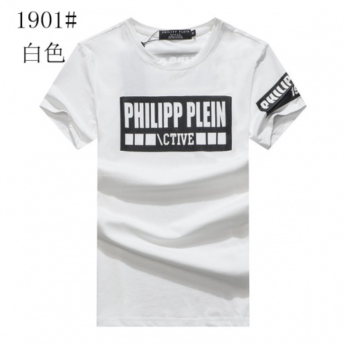 Cheap Philipp Plein PP T-Shirts Short Sleeved O-Neck For Men #477895 Replica Wholesale [$19.40 USD] [W#477895] on Replica Philipp Plein PP T-Shirts