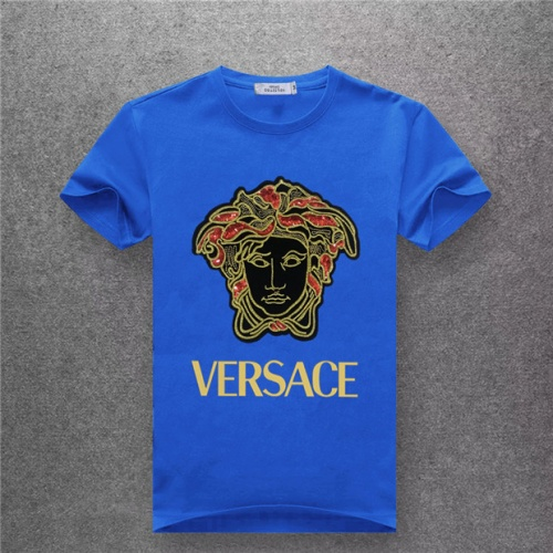 Versace T-Shirts Short Sleeved O-Neck For Men #478995