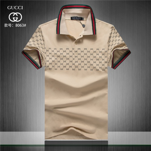 Gucci T-Shirts Short Sleeved Polo For Men #479818