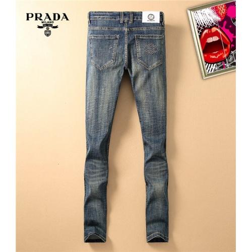 Cheap Prada Jeans Trousers For Men #480832 Replica Wholesale [$41.71 USD] [W#480832] on Replica Prada Jeans