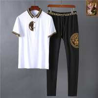 Versace Fashion Tracksuits Short Sleeved Polo For Men #475380