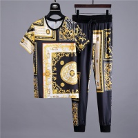 Versace Fashion Tracksuits Short Sleeved O-Neck For Men #475540