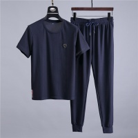 Prada Fashion Tracksuits Short Sleeved O-Neck For Men #475551