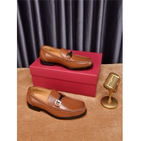 Salvatore Ferragamo SF Leather Shoes For Men #476129