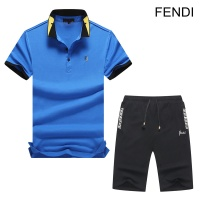 Fendi Tracksuits Short Sleeved Polo For Men #476629