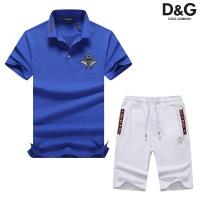 Dolce & Gabbana D&G Tracksuits Short Sleeved Polo For Men #476644