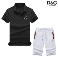 Dolce & Gabbana D&G Tracksuits Short Sleeved Polo For Men #476646