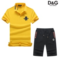 Dolce & Gabbana D&G Tracksuits Short Sleeved Polo For Men #476647